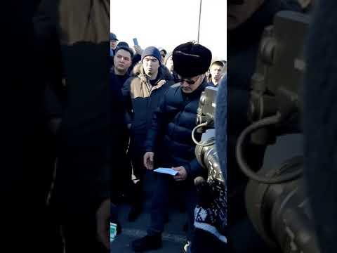 Собрание в г.Шымкент по поводу Армянских машин