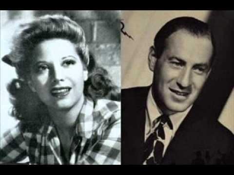Dinah Shore & Buddy Clark - Baby Its Cold Outside 1949 Ted Dale's Orchestra