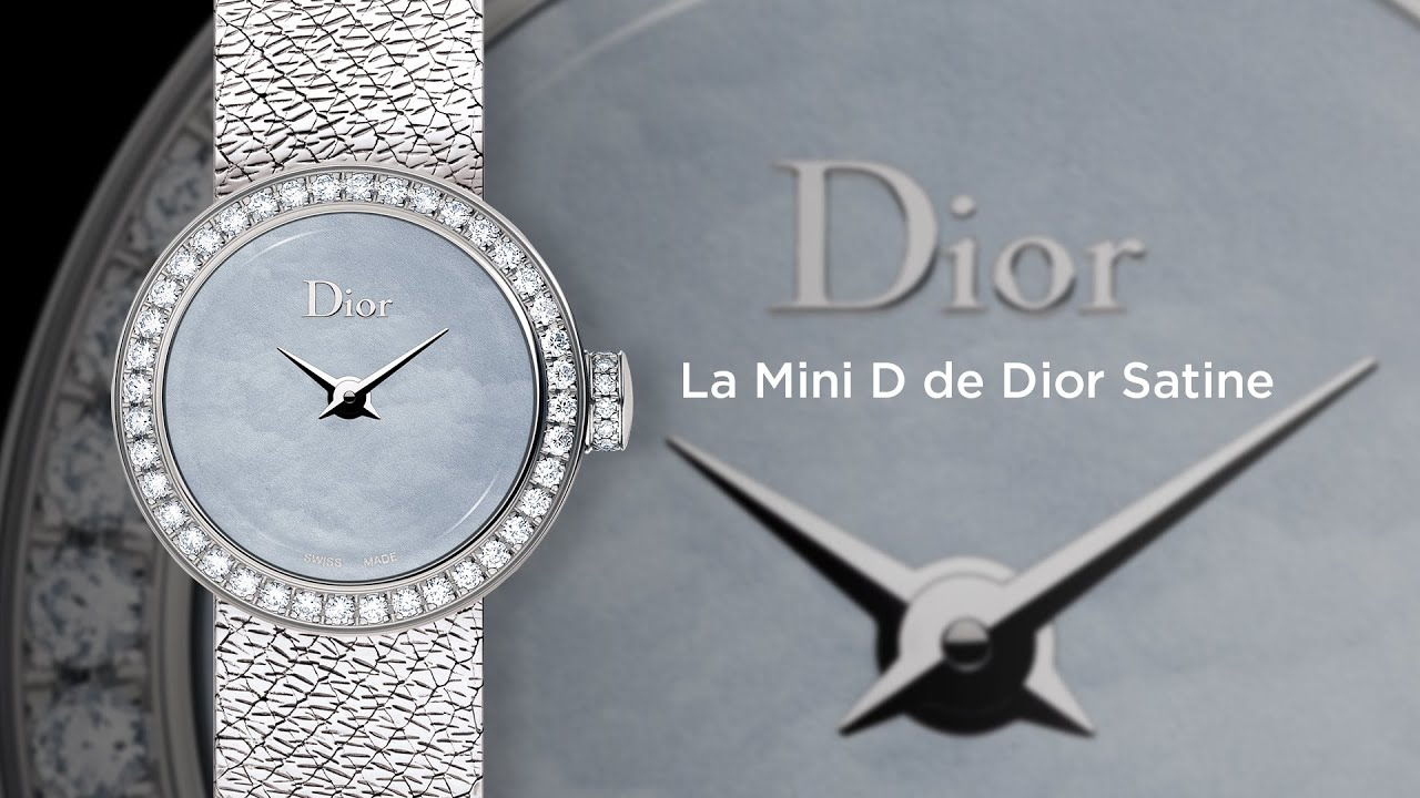 MyWatchTV - La Mini D de Dior Satine (english version)