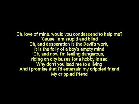 BELLE AND SEBASTIAN The State I'm In (lyrics)