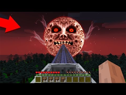 HOW to GET into THE SCARY MOON? in Minecraft : NOOB vs PRO