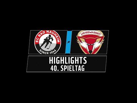 DEL2 Highlights 40. Spieltag | EC Bad Nauheim vs. Lausitzer Füchse