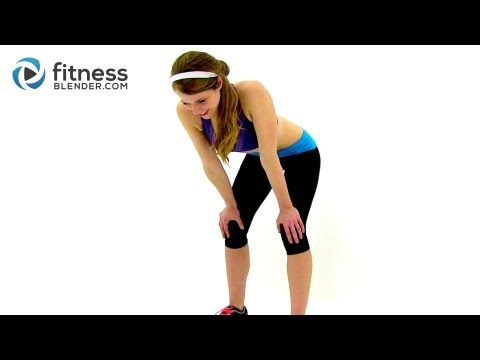 Fitness Blender's When I Say Jump HIIT Cardio Round 2 Fat Burning At Home Cardio