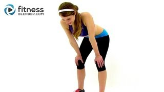 Fitness Blender's When I Say Jump HIIT Cardio Round 2 - Fat Burning At Home Cardio