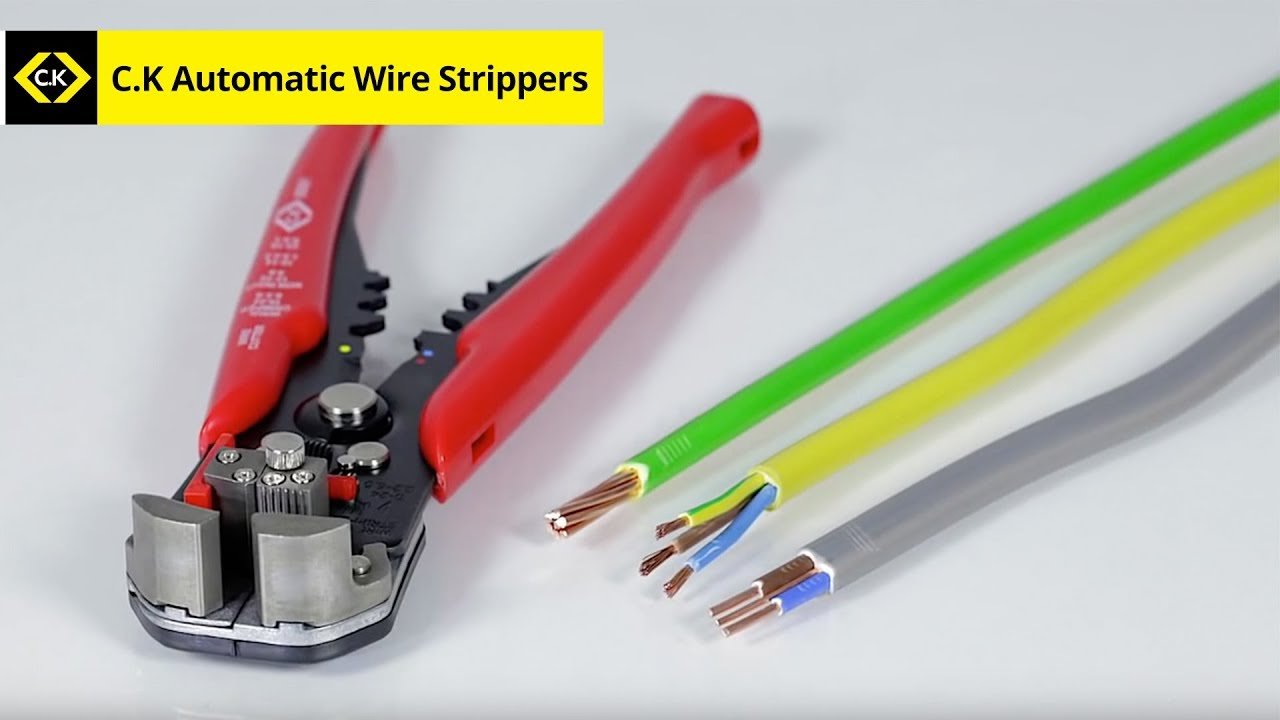 C K Automatic Wire Strippers 495001 Youtube