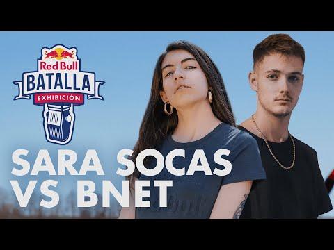 SARA SOCAS vs BNET | Exhibición | Red Bull Batalla