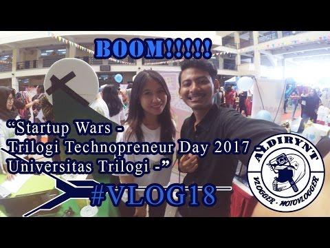 IKEH IKEH KIMOCHI - Startup Wars'Trilogi Technopreneur Day 2017 - Universitas Trilogi - #Vlog18