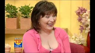 Lorraine Kelly [GMTV] – Boob Slip Slo-mo.
