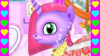 Ухаживаем за маленькой пони! Интересные мультики для детей. Детские мультфильмы про животных.