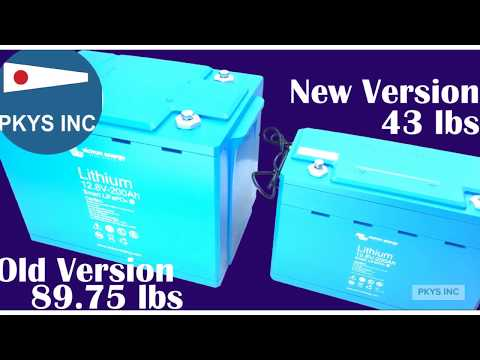 NEW! Victron Energy 12 V 200Ah Lithium Ion Battery