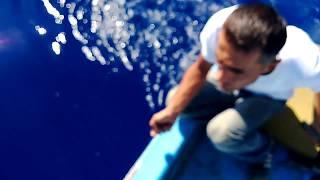 anamur açıklarında 50 kg akya avı...