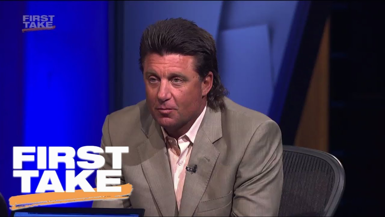 Osu S Mike Gundy Talks Rant Mullet And Snake Hunting First Take Espn Youtube
