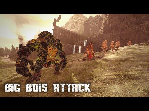 BIG BOIS ATTACK - Total War Warhammer 2 |