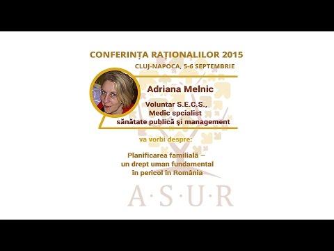 Conferinta Rationalilor 2015: Adriana Melnic - Planificarea familiala in Romania