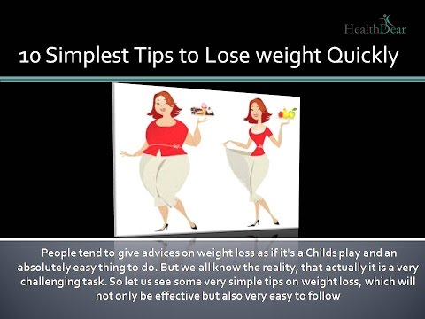 how can i lose weight fast without exercise | 10 Super Easy Tips to Lose Weight Quickly