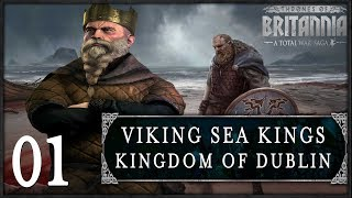 VIKING SEA KINGS INVADE! | Total War: Saga - Thrones of Britannia (Dyflin) #1