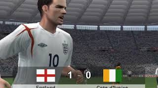 pes 2007 World cup (England)