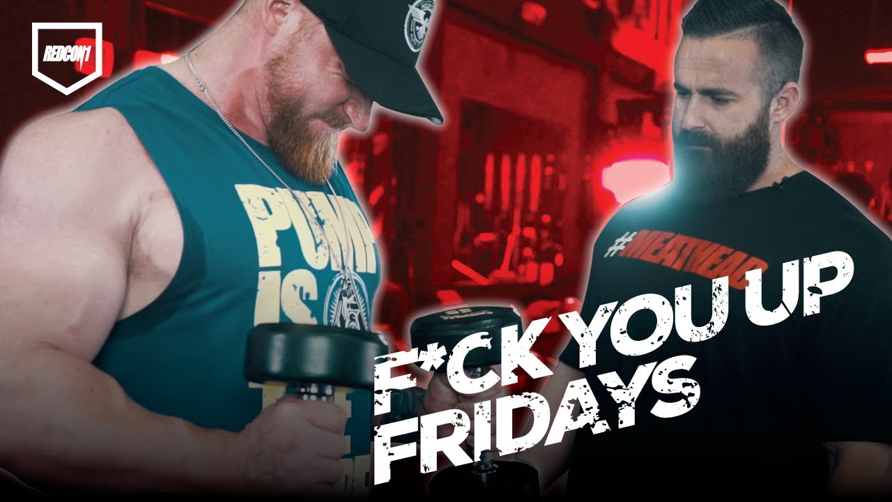 Joe Bennett's F* You Up Fridays - EP 1: Biceps – Redcon1 Official