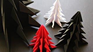 Бумажная Елка своими руками - ОРИГАМИ(Бумажная Елка своими руками - ОРИГАМИ. origami. Елка из бумаги. На нашем канале вы найдёте развивающие обучающи..., 2015-11-18T12:17:49.000Z)