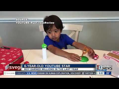 6-year-old boy making millions reviewing toys thumbnail
