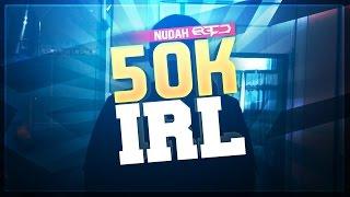 Red Nudah | 50,000 SUBSCRIBER IRL!!
