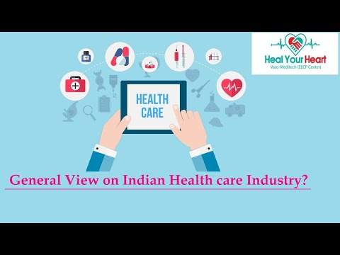 general view on indian health care industry