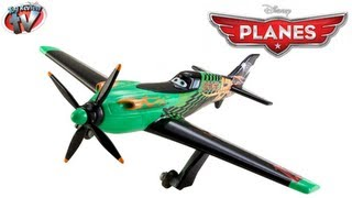 Disney Planes Ripslinger Die-cast Aircraft Toy Review, Mattel
