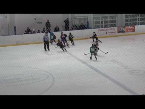 Semifinal Ottawa Lady 67s Black vs. Maitland Ice Sharks - Kingston Prospects Tourn 2017 Girls U10