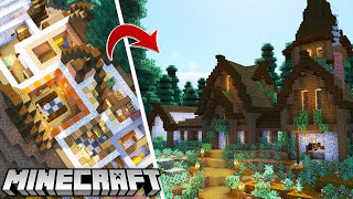I built an entire Minecraft Village in a House! Minecraft 1.16