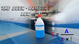AP Chemistry Investigation #1: Beer-Lambert Law.