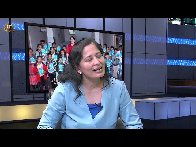 Dr Smita Joshi - Vasudevbhai J Raval Trust in Gujarat, India - Wide Angle With Ashok Vyas