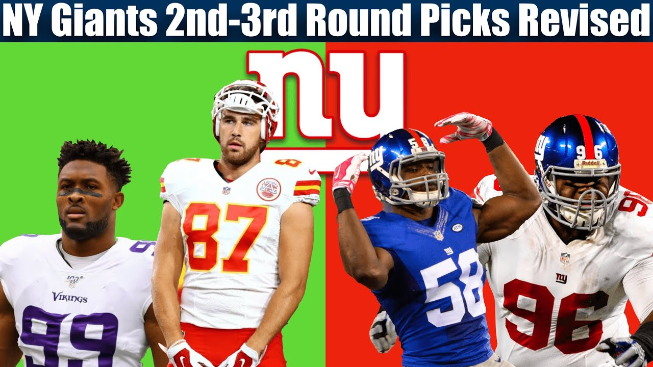 NY Giants Draft Mistakes Rounds 2-3 (2010-Present)