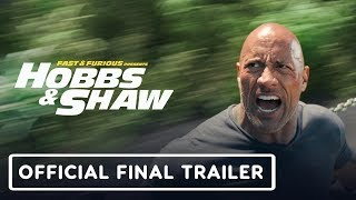 Fast & Furious Presents: Hobbs & Shaw - Final Trailer (2019) Dwayne Johnson, Jason Statham