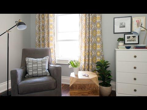 Interior Design — How To Transform A Room With Drapes