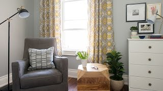 Interior Design — How To Transform A Room With Drapes