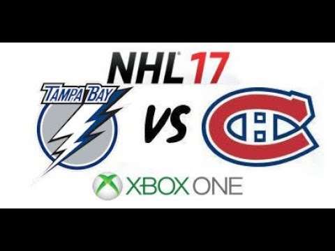 NHL 17 - Tampa Bay Lightning vs Montreal Canadiens - E.C. Quarterfinals Game 1