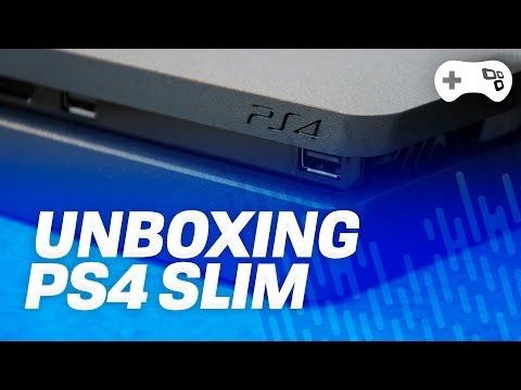 PlayStation 4 Slim - Unboxing! - Tecmundo Games