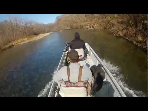 Eleven Point River Fishing, Late Fall