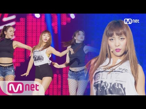 [KCON 2016 France×M COUNTDOWN] LUNA(루나) _ Free Somebody M COUNTDOWN 160614 EP.478