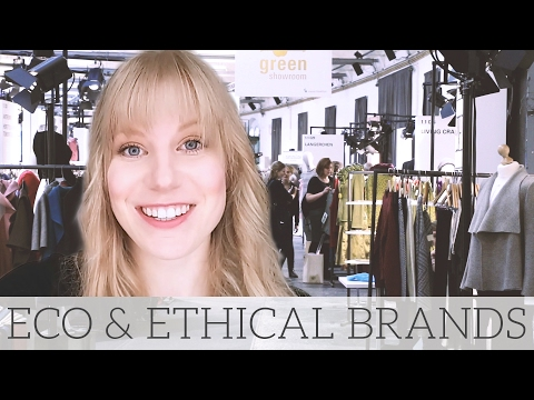 Conscious Brands at the Ethical Fashion Show & GreenShowroom | Part 1