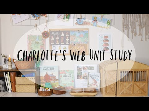 Homeschool Literature Unit Study I Charlotte's Web Learning Family Learning Guide By HearthMagic