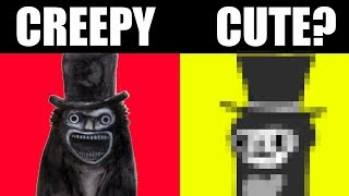 IF HORROR MOVIES WERE FOR LITTLE KIDS! [Creepy into Cute Challenge]
