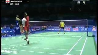 2011 bwf sudirman cup korea vs england ms 1 5