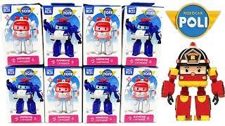 РОБОКАР ПОЛИ 2018 СВИТ БОКС Игрушки новая серия машинки мультик Robocar Poli Sweet Box Surprise