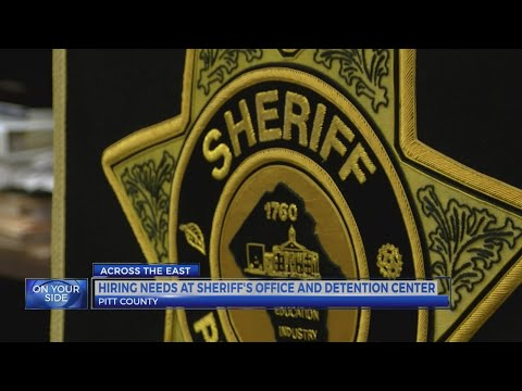 Pitt County Sheriff's Office in need of new hires