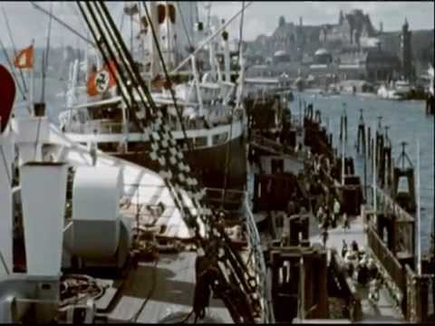 The port of Hamburg in 1938