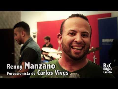 Renny Manzano en BaterosporCristo