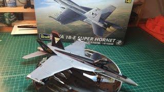 F/A-18E Revell Super Hornet 1:48 Full Build Review