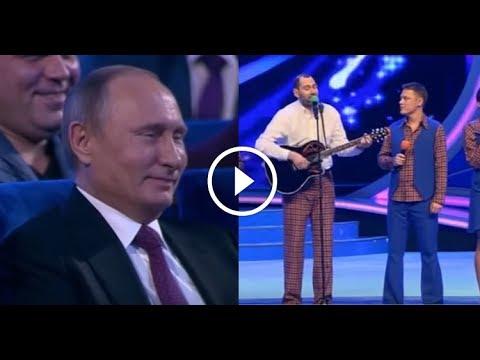 Слепаков спел Путину. А у нас в стране все есть)))