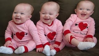BEST FUNNY Triplet Babies Making Noises | FUNNY Vines Compilation